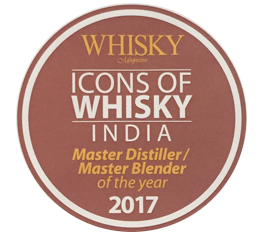 Michael D'souza - Master Distiller / Master Blender of the year 2017