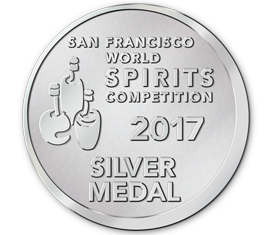 San Francisco World Spirits Competition 2017 - Silver