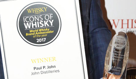 Paul John Single Malts on a Winning Streak