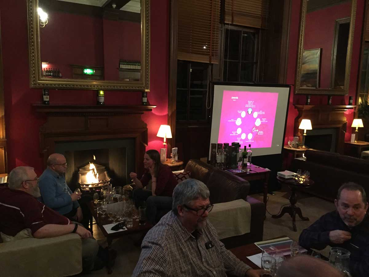 Tastings at The Vault, Edinburgh with The Scotch Malt Whisky Society