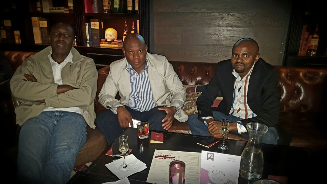 Paul John Whisky Tasting Churchills Bar, Johannesburg