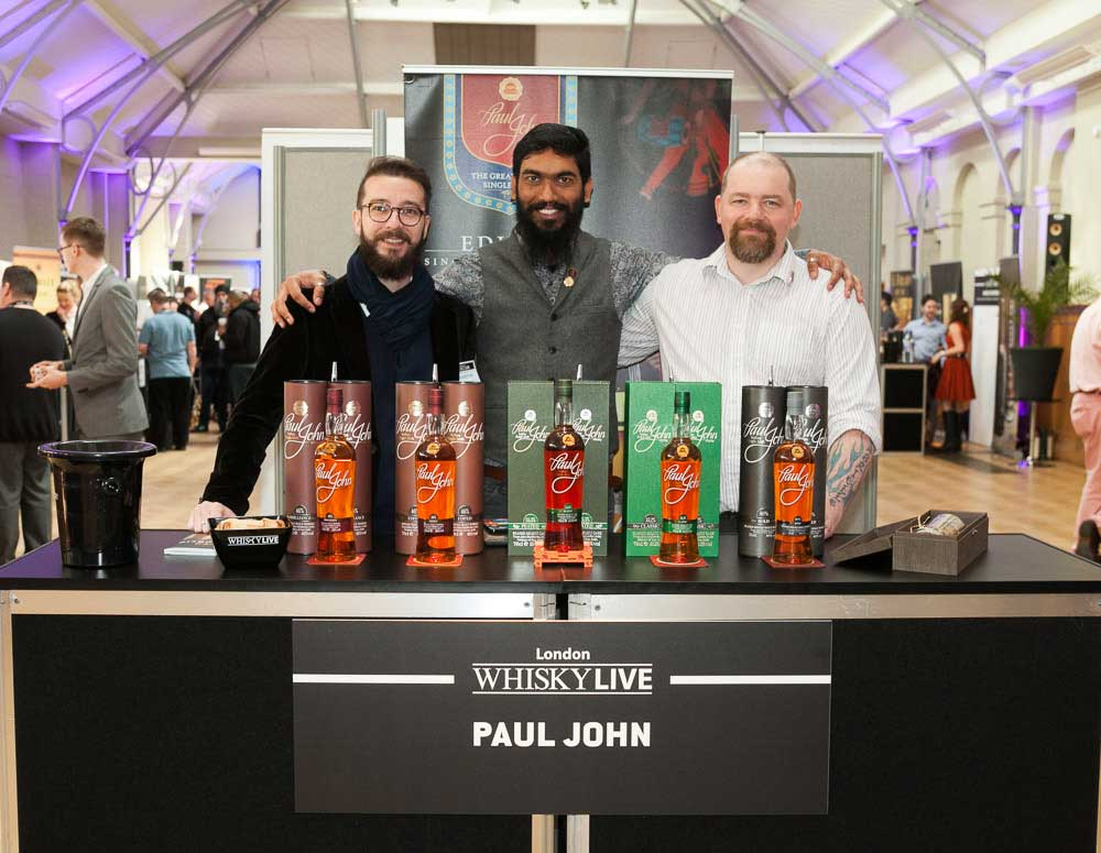 Paul John at Whisky Live London 2017
