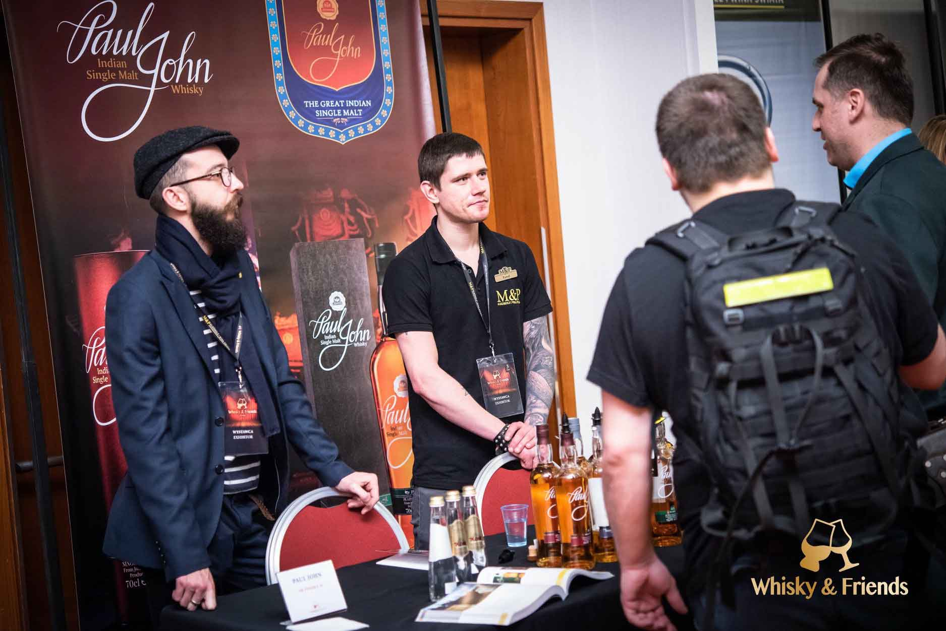 Masterclass at Whisky & Friends, Warsaw, Poland