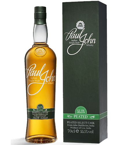 Peated Indian Single Malt Whisky