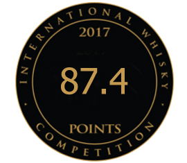 International Whisky Competition 2017 - Bronze
