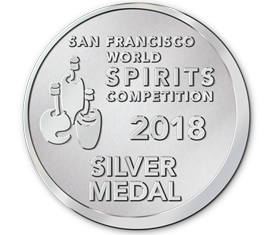 San Francisco World Spirits Competition 2018 Silver Award - KANYA