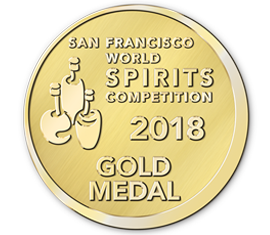 San Francisco World Spirits Competition 2018 Gold Award - EDITED and CLASSIC