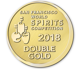 San Francisco World Spirits Competition 2018 Double Gold Award - Brilliance, Bold & Peated