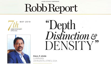 Depth, Distinction and Density - Robb Report