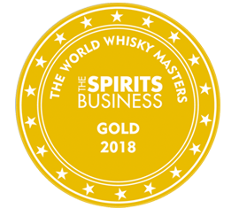 World Whisky Masters 2018 - Gold Medal