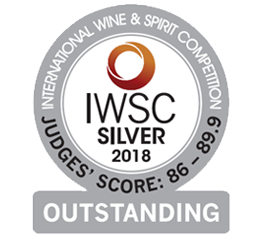IWSC 2018 International Wine & Spirit Competition - Silver Outstanding Award