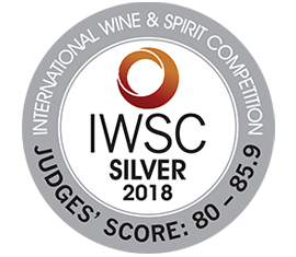International Wine & Spirit Competition IWSC 2018 - Silver Award