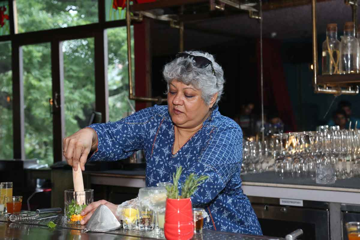 Shatbhi Basu's Paul John Single Malt Cocktail Session at Mumbai