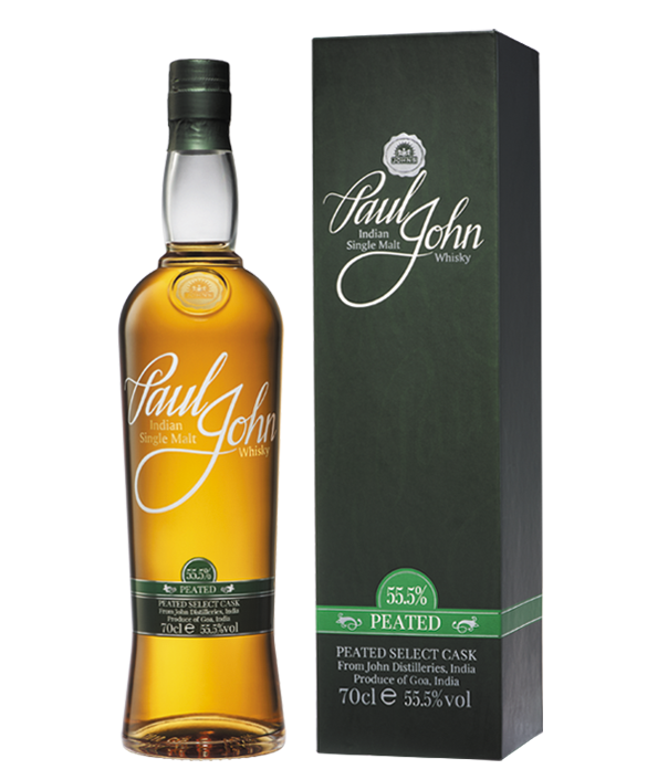 PEATED SELECT CASK Indian Single Malt Whisky