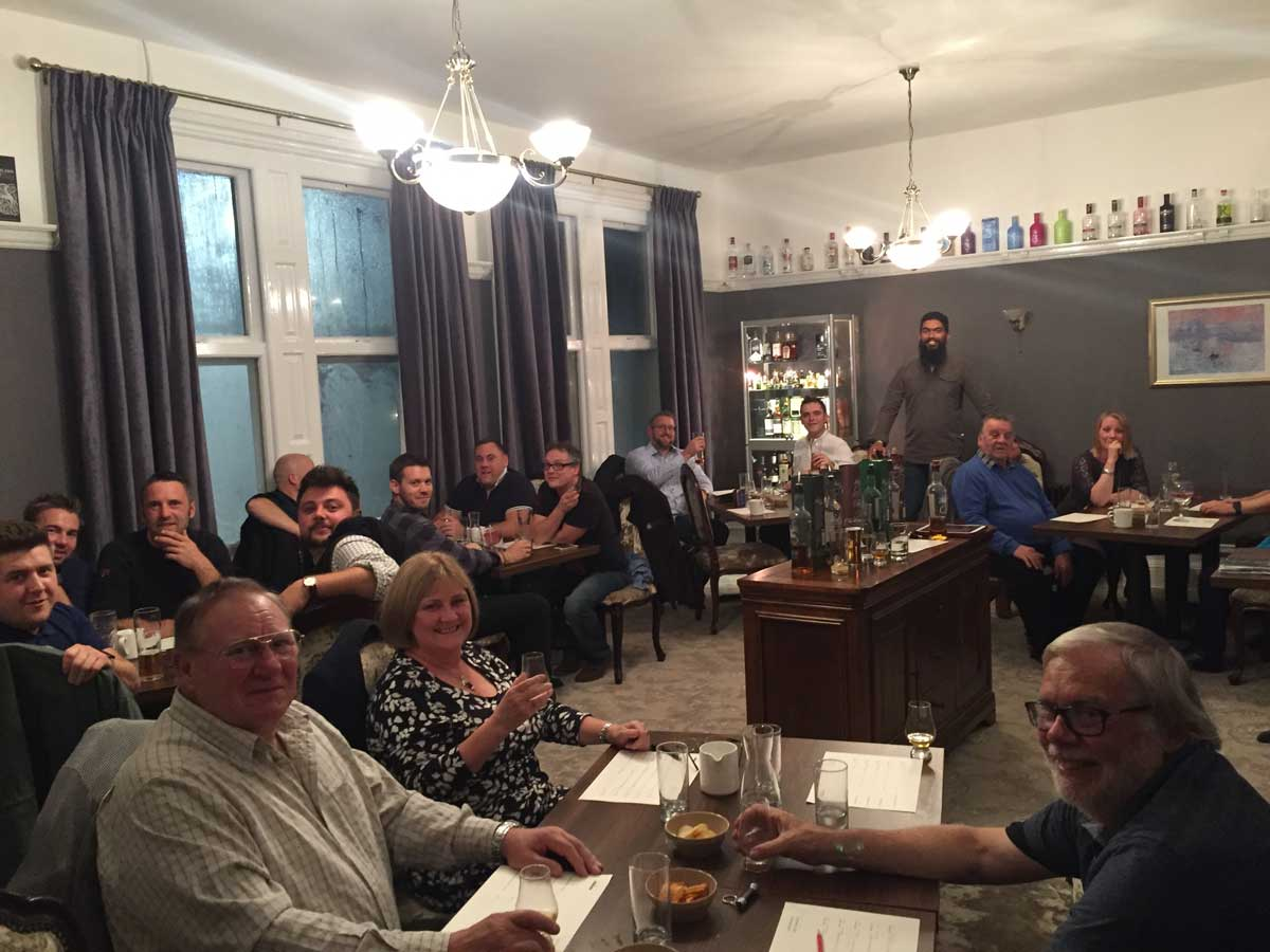 Whisky Tasting at The Tap & Tonic, Lincolnshire
