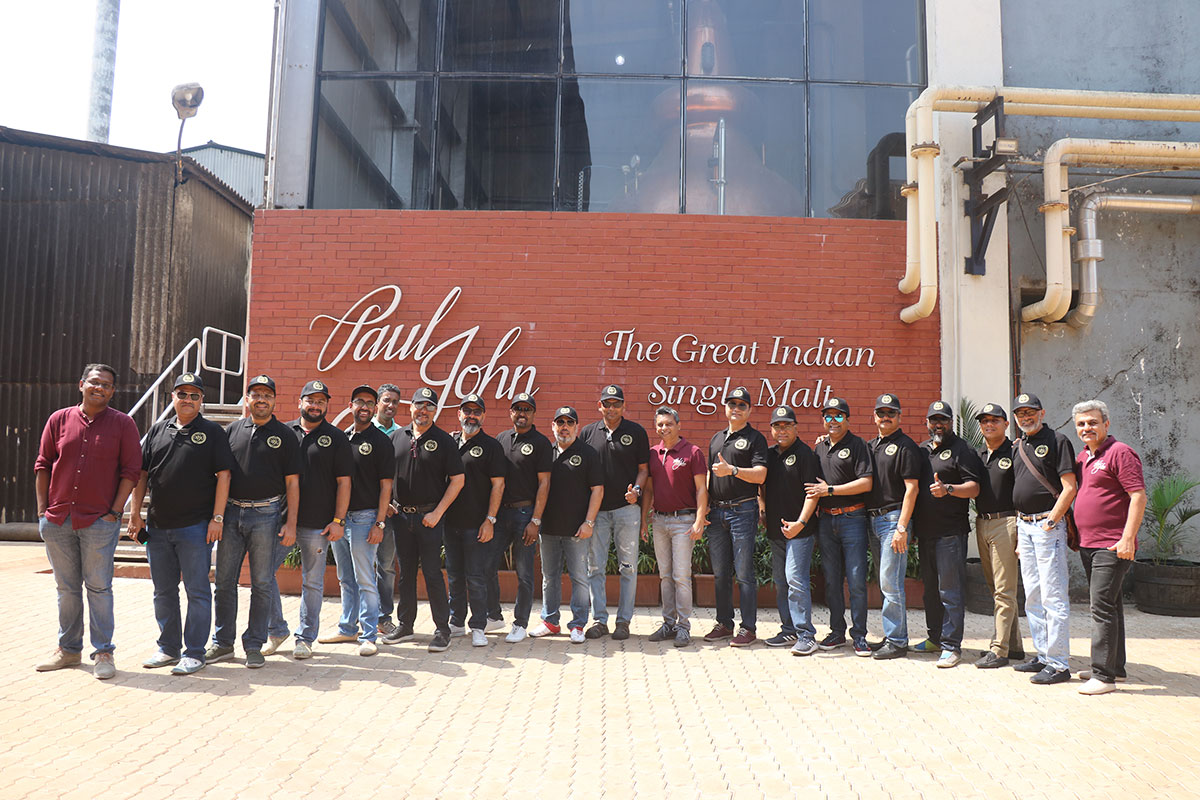 Malt Society Arabia Visits Paul John Visitor Centre, Goa