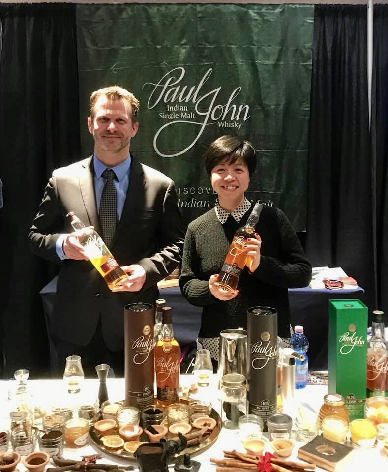 Devin - Paul John Whisky at The Whisky Fest, Washington DC, Chicago, NYC