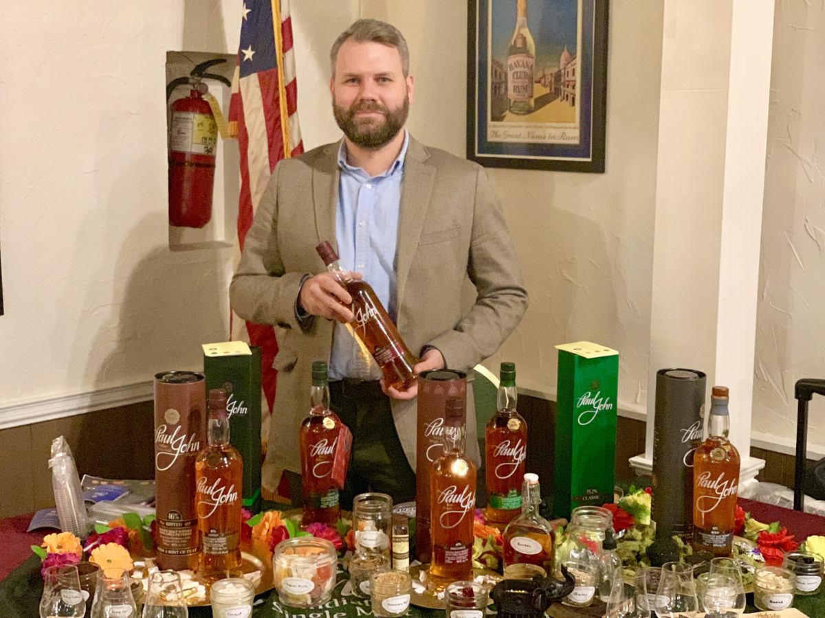 Paul John Whisky and Cigar Pairing Masterclass, NJ