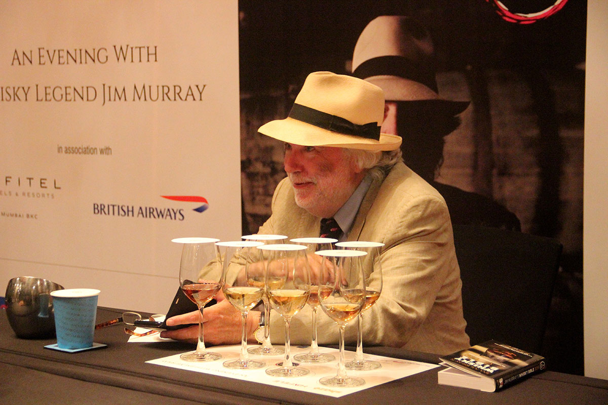 Blind Tasting line up with Whisky Bible Author Jim Murray!