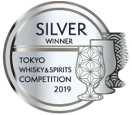 Tokyo Whisky Spirits Competition 2019- Silver Award