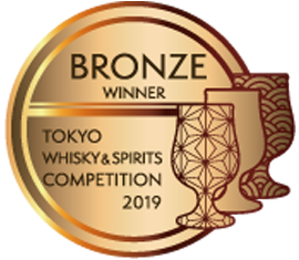 Tokyo Whisky Spirits Competition 2019 - Bronze Award