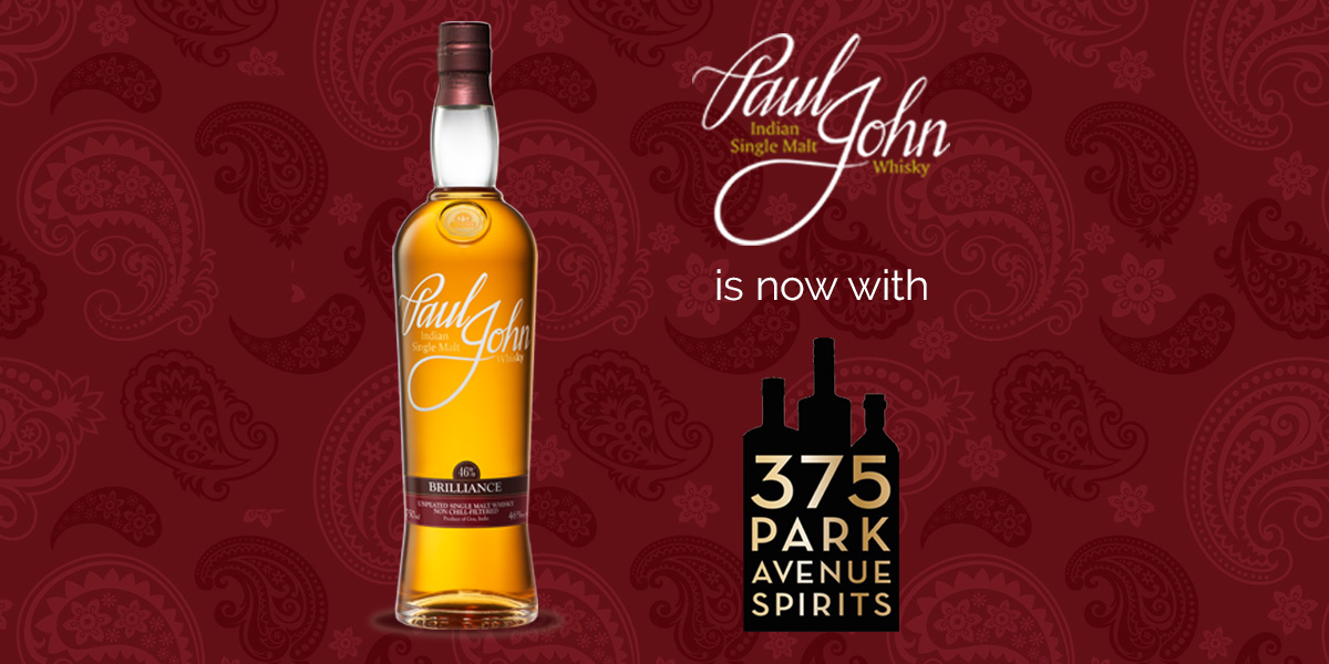 375 Park Avenue Spirits named as the New Importer in USA for Paul John Whisky