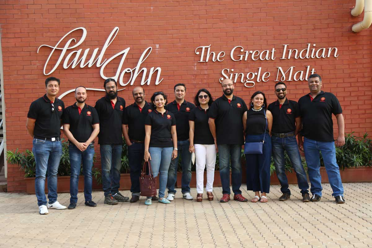 Single Malt Amateur Club SMAC visits Paul John Visitor Centre Goa