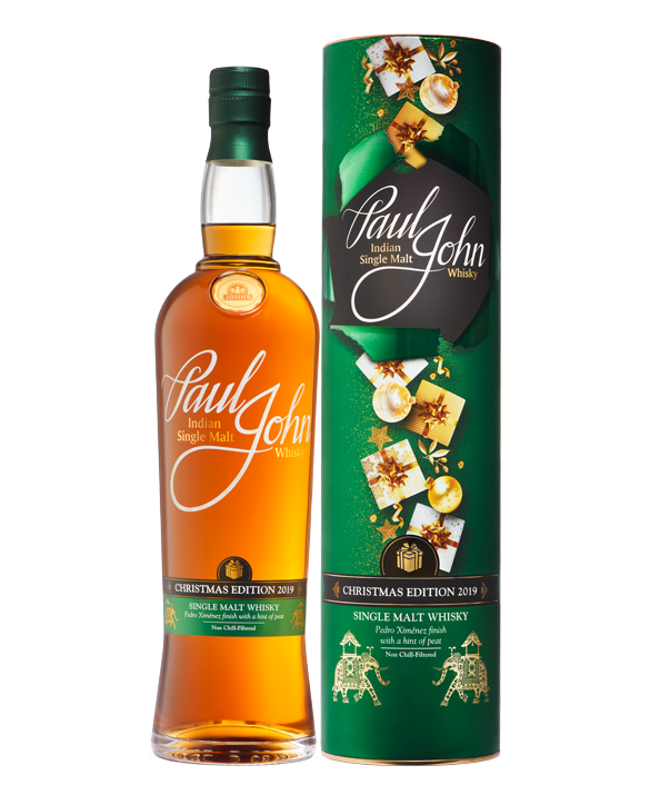 CHRISTMAS EDITION 2019 Indian Single Malt Whisky