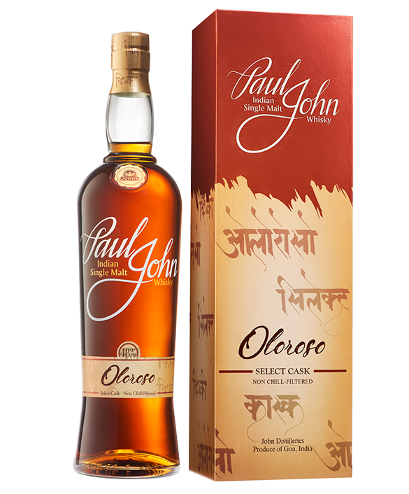 OLOROSO SELECT CASK Indian Single Malt Whisky