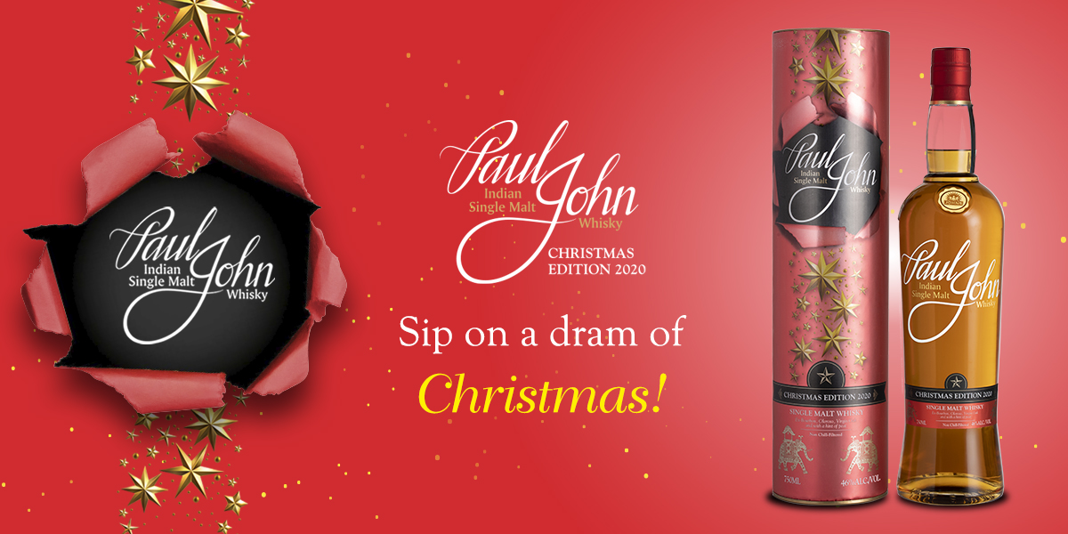 Paul John Whisky unveils newest addition to its Christmas Series – Christmas Edition 2020.