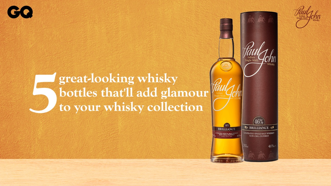 5 great-looking whisky bottles that'll add glamour to your whisky collection