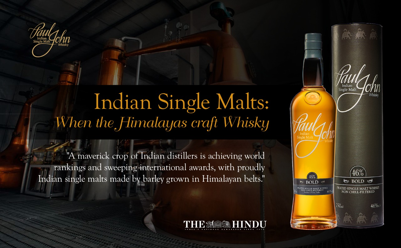 Indian single malts: when the Himalayas craft whisky by The Hindu