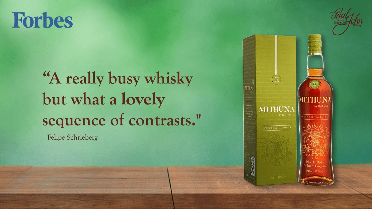 Mithuna - A really busy whisky but what a lovely sequence of contrasts